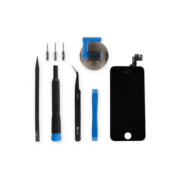 iPhone SE Screen / Fix Kit / Black