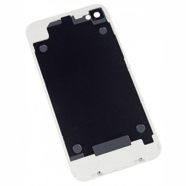 iPhone 4 Blank Rear Glass Panel (GSM/AT&T) / Part Only / White / New