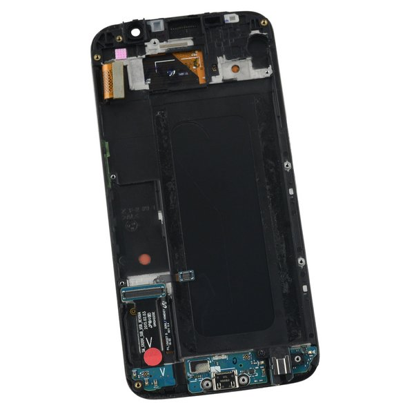 Galaxy S6 LCD Screen and Digitizer Assembly (Verizon) / Black / A-Stock