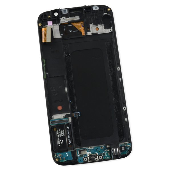 Galaxy S6 LCD Screen and Digitizer Assembly (Verizon) / White / A-Stock