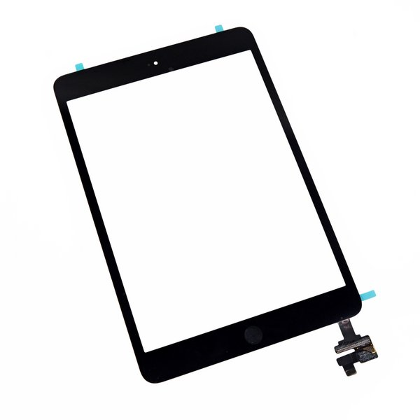 iPad mini 1/2 Front Glass/Digitizer Touch Panel Full Assembly / New / Part Only / Black / With Adhesive