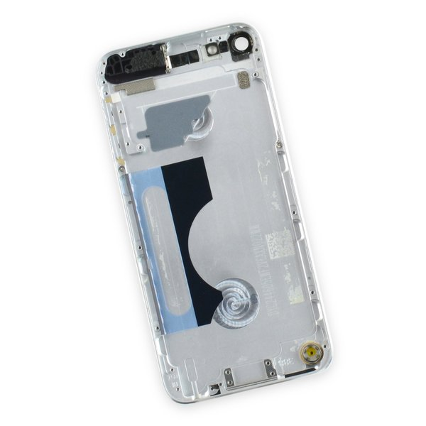 iPod touch (model A1421 5th Gen) Used OEM Rear Panel / Silver / A-Stock