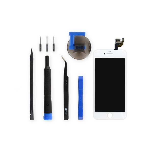 iPhone 6 LCD Screen and Digitizer Full Assembly / New / Fix Kit / White