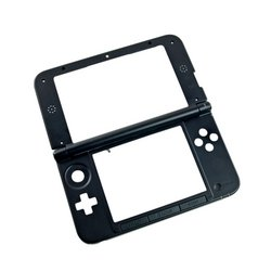 Nintendo 3DS XL Mid-Frame and Digitizer Assembly / Black / A-Stock