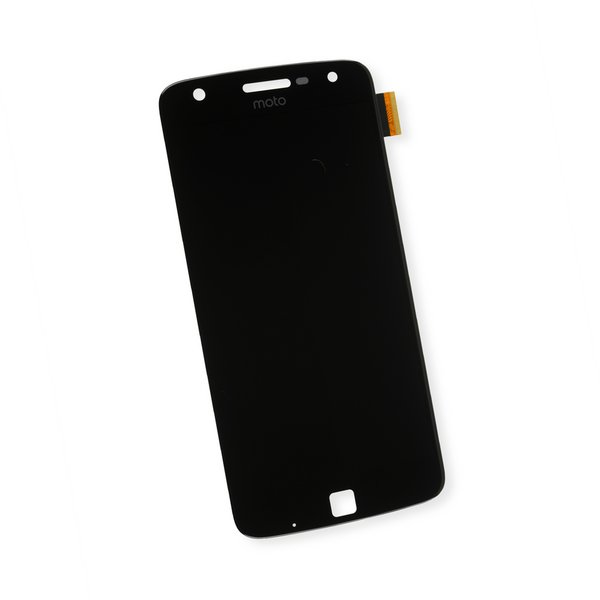 Moto Z Play LCD Screen and Digitizer / Black / Part Only