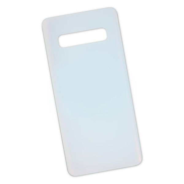 Galaxy S10 Rear Glass Panel/Cover / White