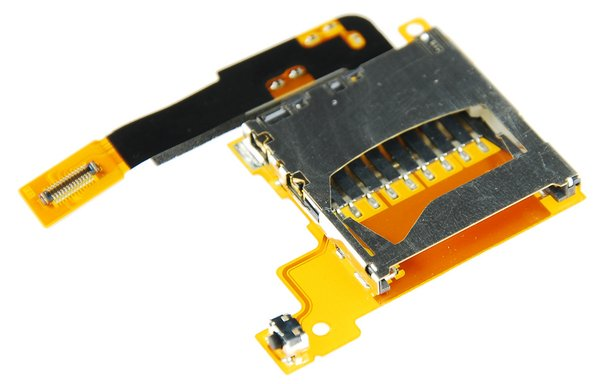 Nintendo DSi XL SD Board