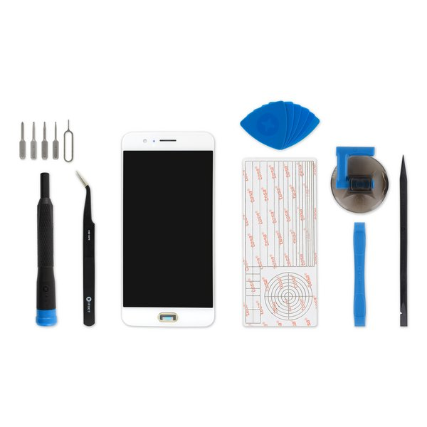 OnePlus 5 Screen / Fix Kit / White
