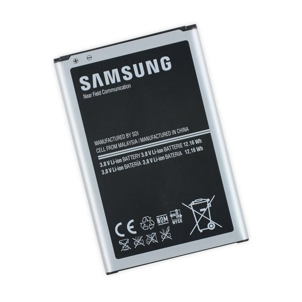 galaxy note 3 replacement battery new part only ifixit. Black Bedroom Furniture Sets. Home Design Ideas