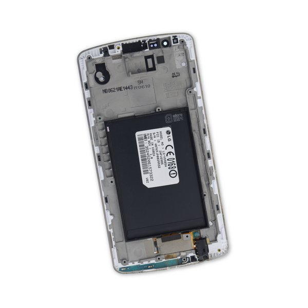 LG G3 LCD Screen and Digitizer (AT&T) / White / C-Stock