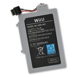 Nintendo Wii U GamePad Replacement Battery / New / 3600 mAh
