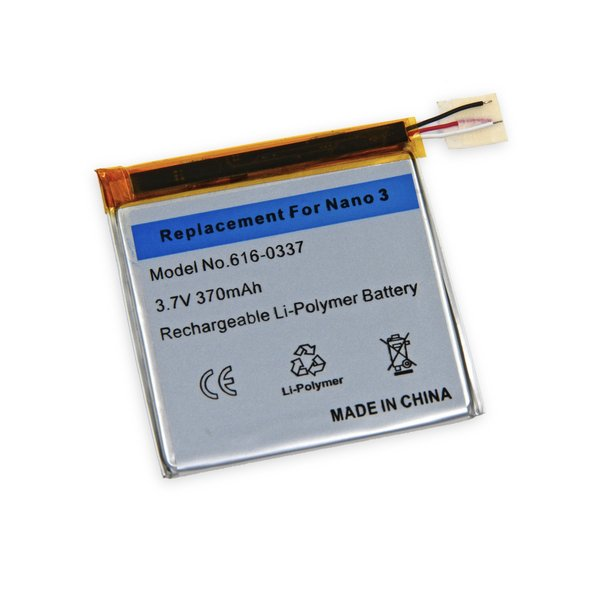 iPod nano (3rd Gen) Replacement Battery / Part Only