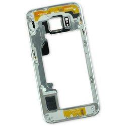 Galaxy S6 Edge Midframe (Global) / White / A-Stock