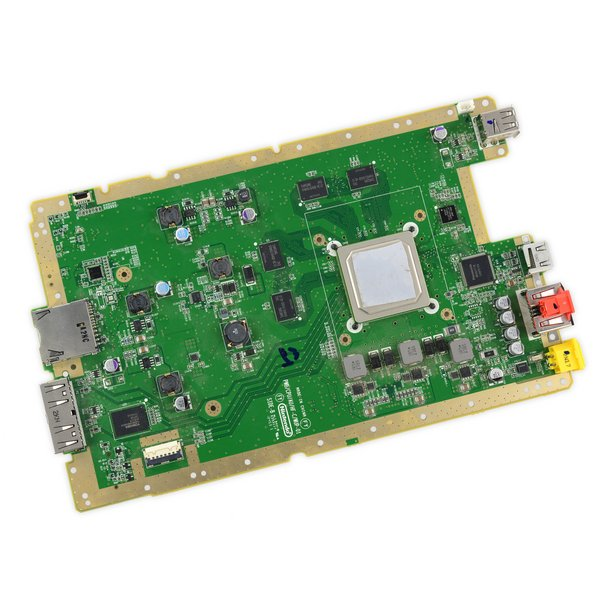 Nintendo Wii U Motherboard & Paired Optical Drive