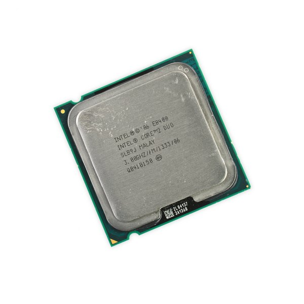 Intel Core 2 Duo E8400 CPU