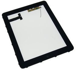 iPad 3G Front Panel Digitizer Assembly