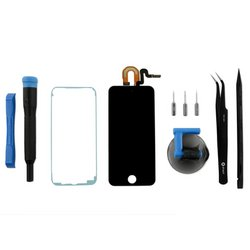 iPod touch (5th Gen) LCD Screen and Digitizer / Fix Kit / Black / New