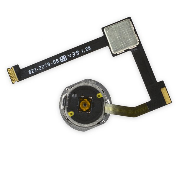 iPad Air 2 Home Button Assembly / Gold