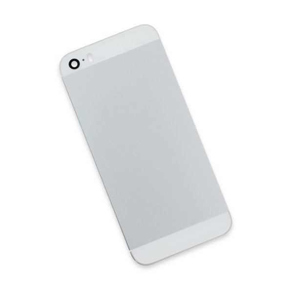 iPhone 5s Blank Rear Case / Silver / Silver