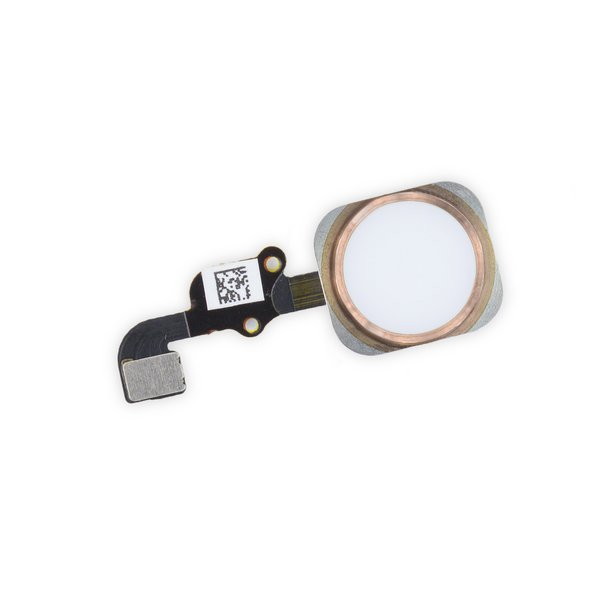 iPhone 6s Home Button Assembly / New / Rose Gold / Part Only