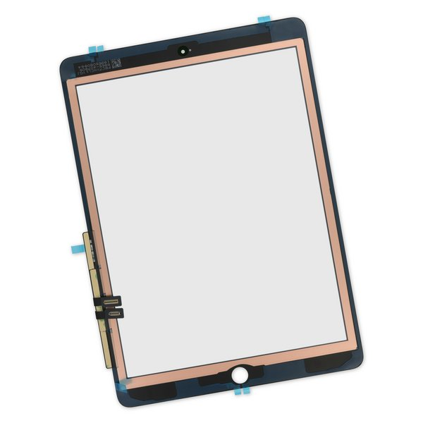 iPad 6 Screen Digitizer / Black / With Adhesive