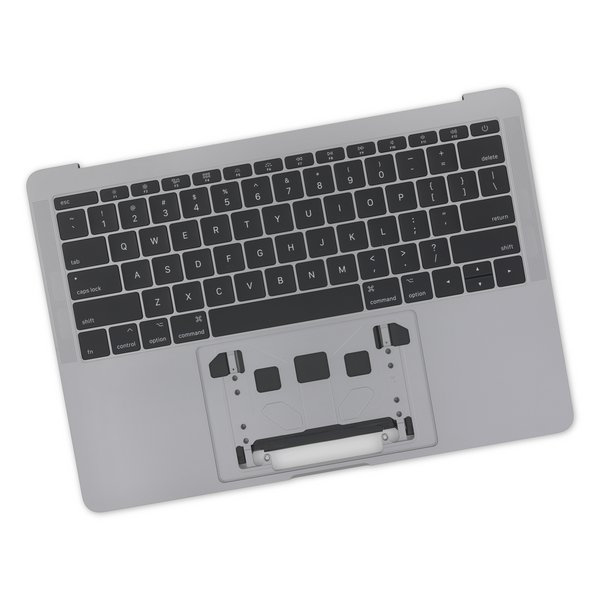 "MacBook Pro 13"" Retina (Function Keys, Late 2016-2017) Upper Case Assembly / A-Stock / Dark Gray"