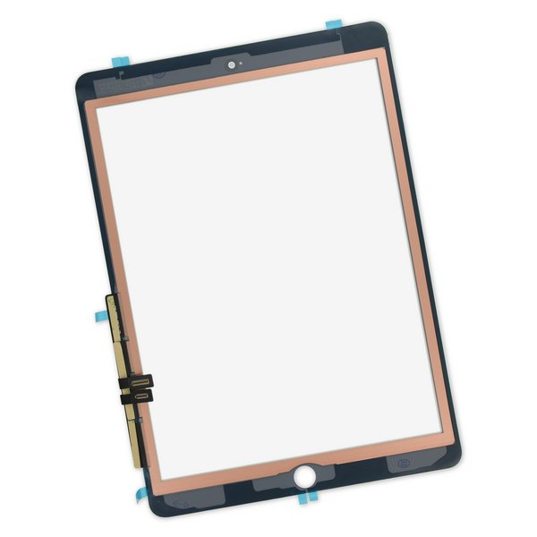 iPad 6 Screen Digitizer / White / With Adhesive