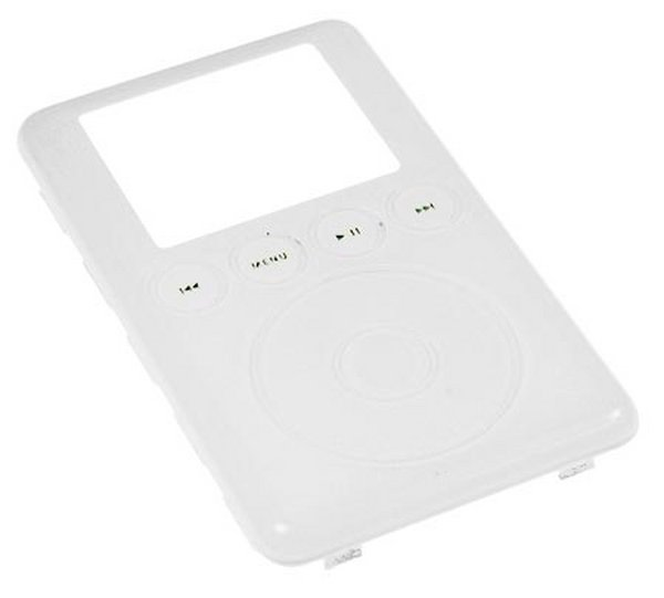 iPod 3G Front Panel Plastics