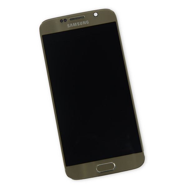 Galaxy S6 Screen and Digitizer Assembly (T-Mobile) / Gold / A-Stock