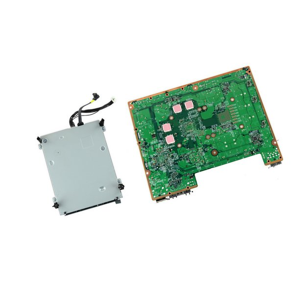 Xbox 360 Xenon Motherboard and Paired Optical Drive