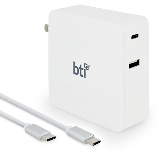 USB-C 87 Watt AC Adapter and Cable