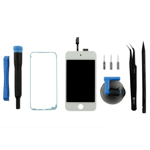 iPod touch (4th Gen) Display Assembly / Fix Kit / White / New
