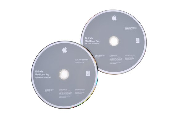 "MacBook Pro 17"" Unibody (Mid 2009) Restore DVDs"