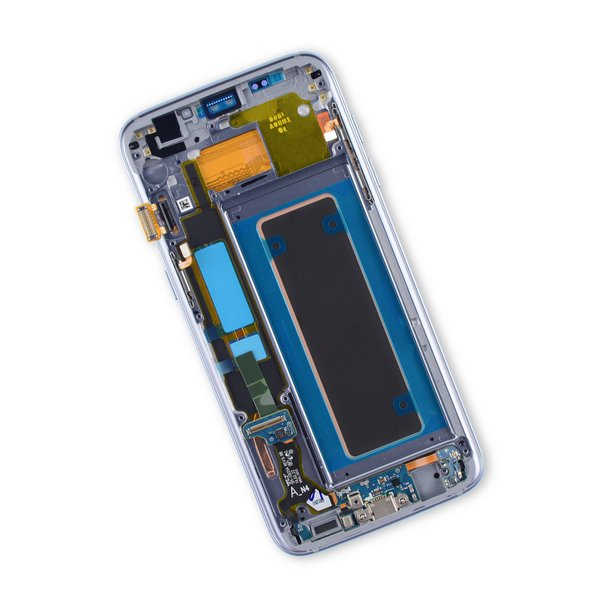 Galaxy S7 Edge LCD Screen and Digitizer Assembly (AT&T) / Black / New