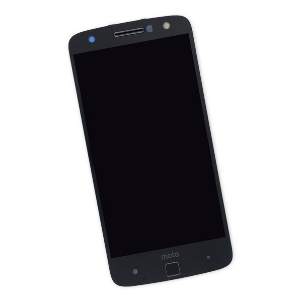Moto Z Force Droid Screen / Black / Part Only