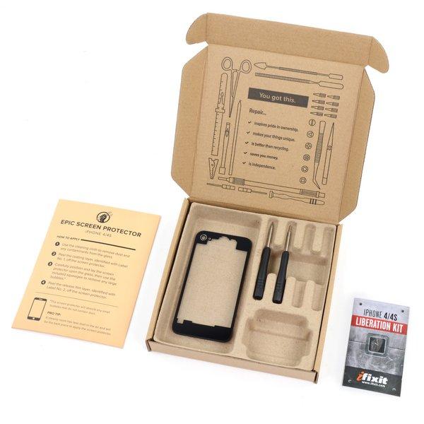 iPhone 4 Revelation Kit (GSM/AT&T) / Black / Fix Kit
