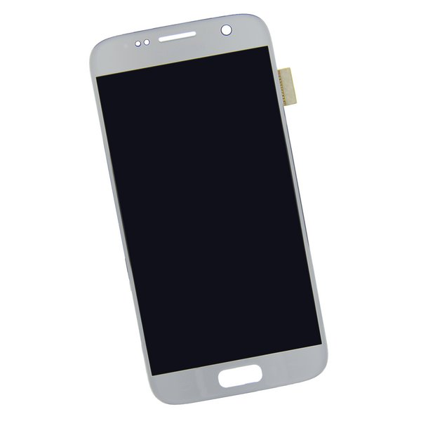 Galaxy S7 Screen and Digitizer / Silver / Part Only