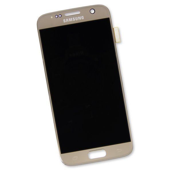 Galaxy S7 Screen / Gold / Part Only / AMOLED