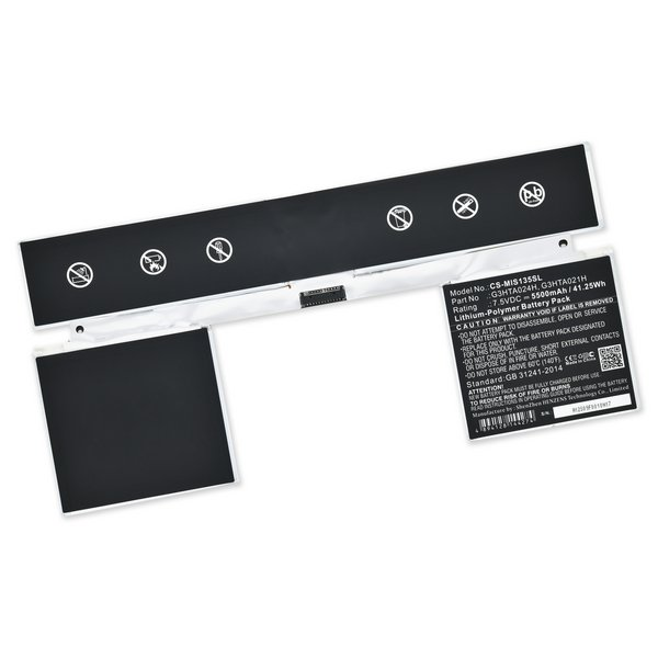 """Surface Book 1/2 13.5"""" Replacement Keyboard Battery / New"""