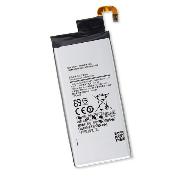 Galaxy S6 Edge Replacement Battery / New / Part Only