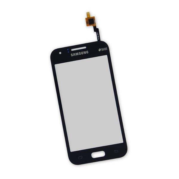 Galaxy J1 (2015) Digitizer Front Panel / Black