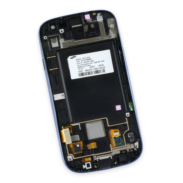 Galaxy S III LCD Screen and Digitizer Assembly (Verizon) / Blue / B-Stock