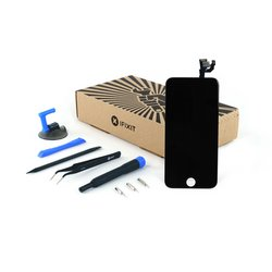 iPhone 6 LCD Screen and Digitizer Full Assembly / New / Fix Kit / Black