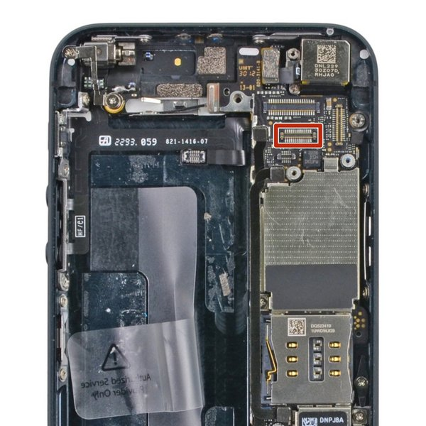 iphone 5c camera not working iphone 5 5c display data fpc connector ifixit 9918