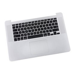 """MacBook Pro 15"""" Retina (Late 2013/Mid 2014) Upper Case Assembly"""