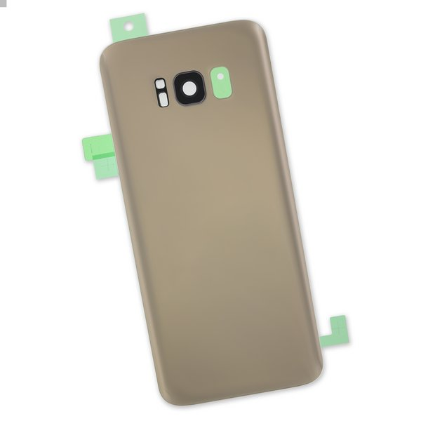 Galaxy S8 Rear Glass Panel/Cover / Part Only / Gold