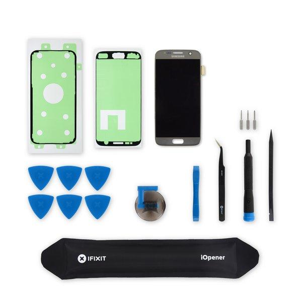 Galaxy S7 Screen / Silver / Fix Kit v.2