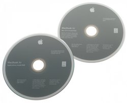 MacBook Air (Mid 2009) Restore DVDs