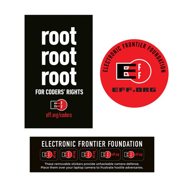 eff activist sticker bundle ifixit