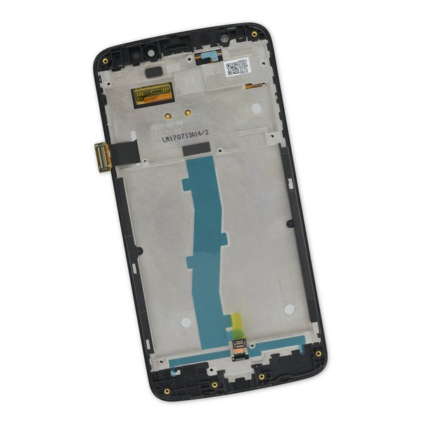 Moto E4 (XT1766) Screen / Black / Part Only